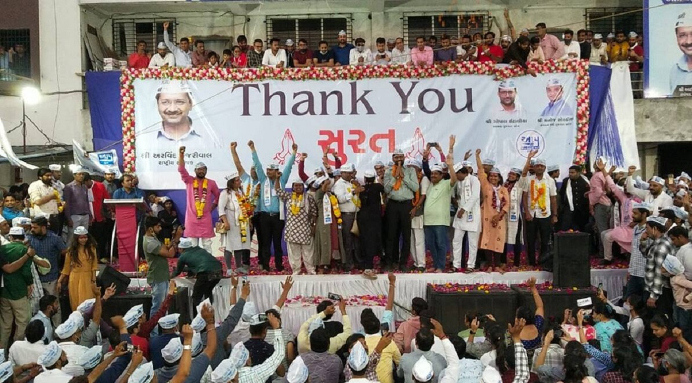 Gujarat: Can Aam Aadmi Party be a Major Force in State?